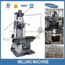 X715 bed-type milling machine manufacturer high performance DRO miller for metal machining