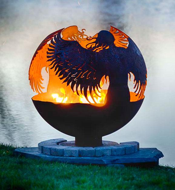 2018 new design durable globe fire pit for garden treasure - 2018 New Design Durable Globe Fire Pit For Garden Treasure - Buy