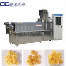 Extruded Potato Starch Snacks Making Machine/Pellet Food Extruding /Single Screw Extruder