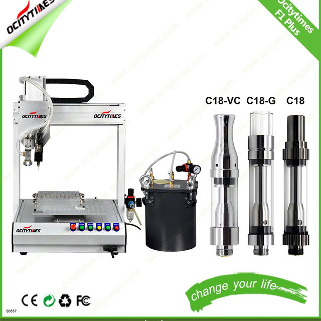 CE ISO small capacity eye drop bottle filling machine/ electric cigarette tube Filling Machine/ cbd tank filling machine