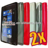 S Line Soft TPU Gel Cover Case for Nokia Lumia 900