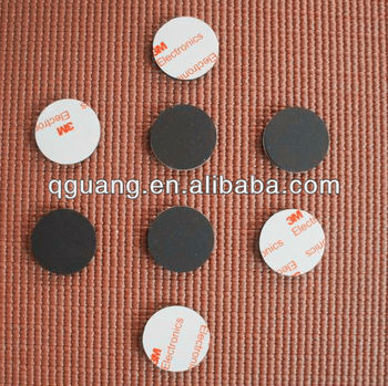 Sticky rubber pad with thickness 3mm