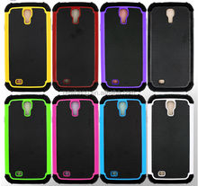 3 in1 Soft Silicon Sublimation case with football grain for samsung s4