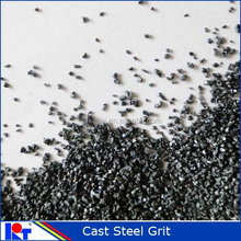 suitable abrasive cast steel grit to shot blasting