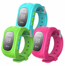 Kids GPS Watch Q50 GSM Card SOS Call GPS Safety Tracker Smart Watch for Children