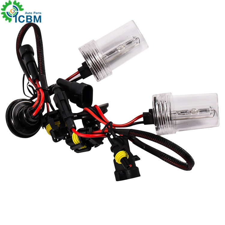 Hot selling HID <strong>kit</strong> lighting headlight H1 H3 H5 H6 H7 <strong>H10</strong> 11 4300k 6000k 8000k 10000k 120000k hid bulb hid <strong>xenon</strong> bulb