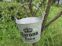5L hot-dipped metal ice bucket