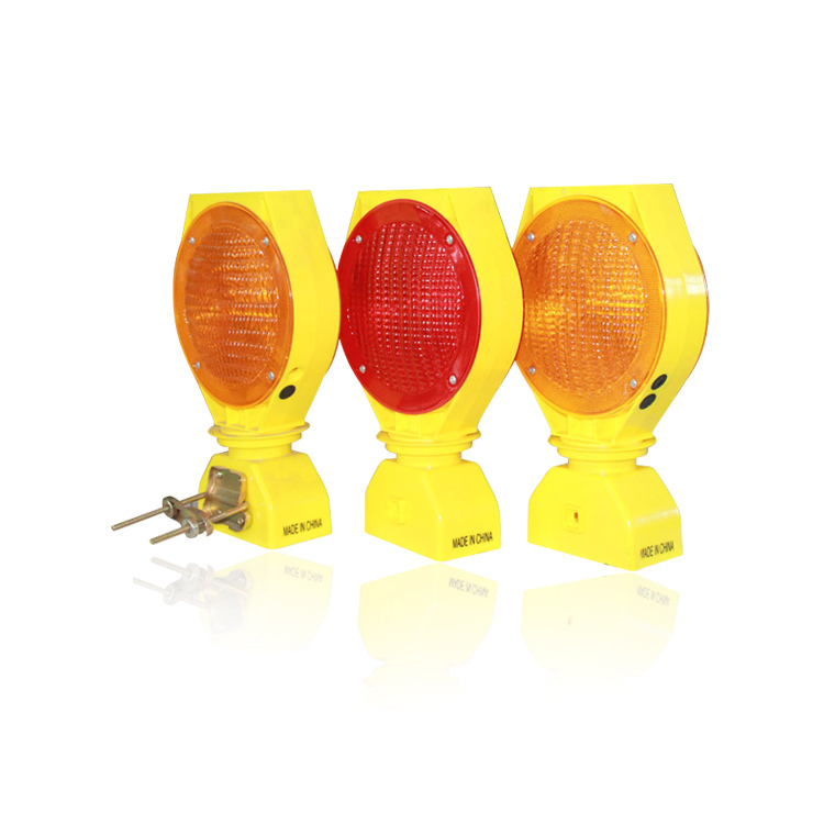 Road construction solar light solar barricade light