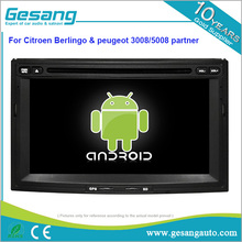 Auto multimedia 8 core android 6.0 car dvd player for citroen Berlingo / peugeot 3008/5008 partner
