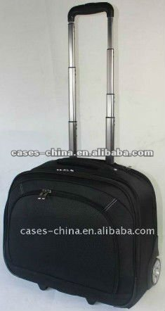 high quality non-wove trolley laptop case/suitcase with factory price