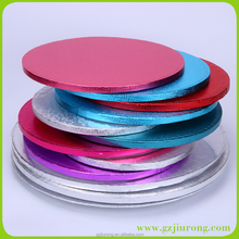 Round MDF Goldeh Cake Boards made in china