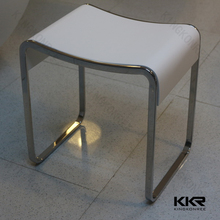 Clear acrylic stools high quality kids vanity stool