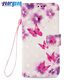 Wallet Cover Card Slot Magnetic Flip Stand 3D PU Leather Case for iPhone 6 Plus / 6S Plus