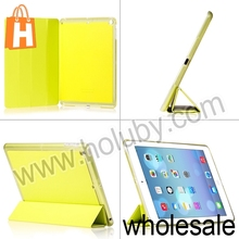 HOCO Flash Series Four fold Stand Flip PC+Leather Case for iPad Air