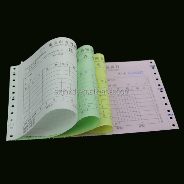 Custom Invoice Paper, Sample Invoice , NCR/Carbonless Invoice Book Printing