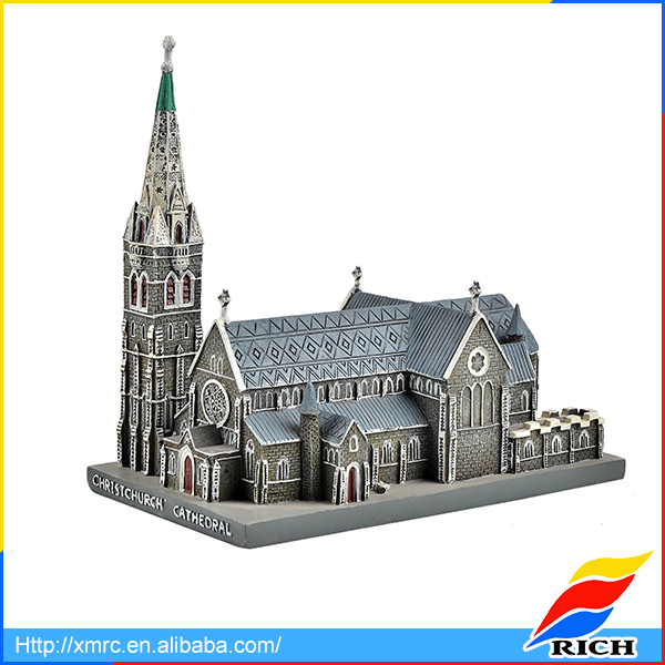 Christ church cathedral miniature resin castle building