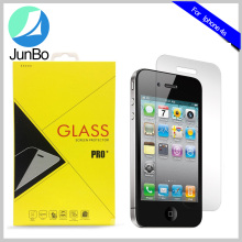 Clear Premium Anit-scratch Tempered Glass Mobile Phone Screen Protector For iphone 4s