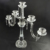 Factory directly sale customized design crystal candelabra crystal candleholder for wedding-