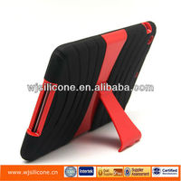 Hot sell waterproof oem wallet leather back case for ipad