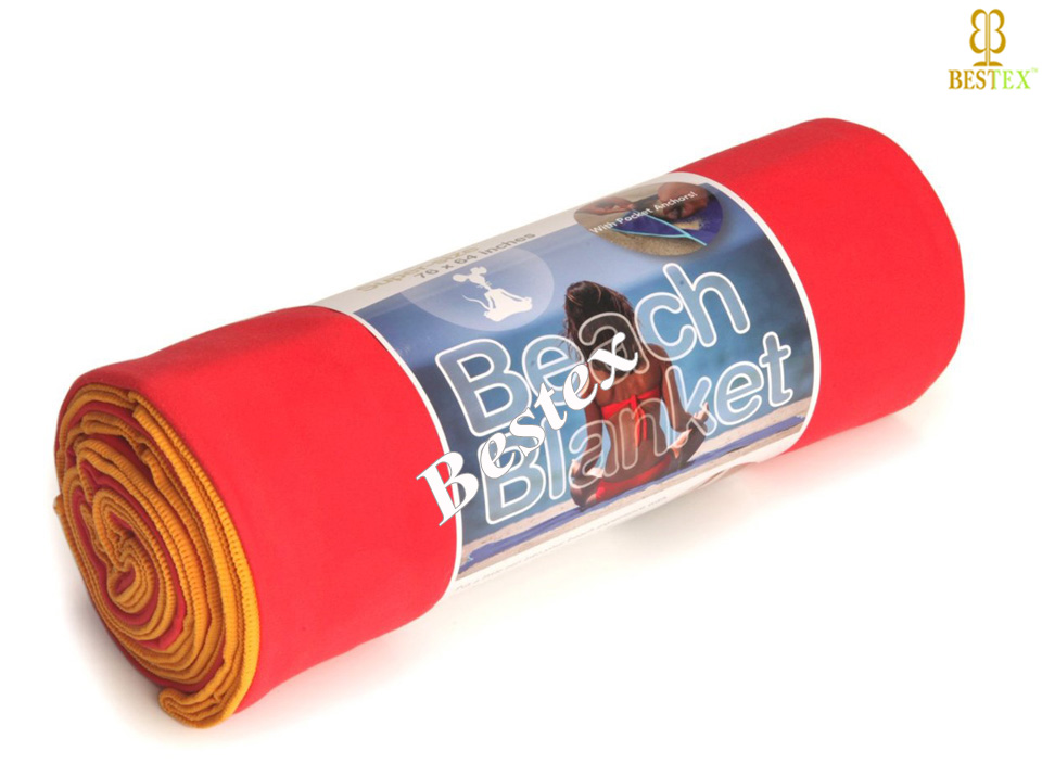 Cheap Thin Microfiber Outdoor Roll Up Sand Free Large