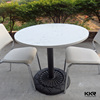 marble dining table set round dining table
