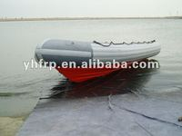 frp lightweight inflatable pontoon fishing boat