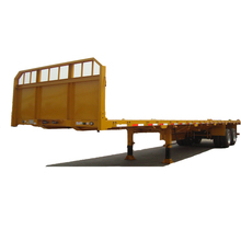 China low price tandem axle trailers for sale