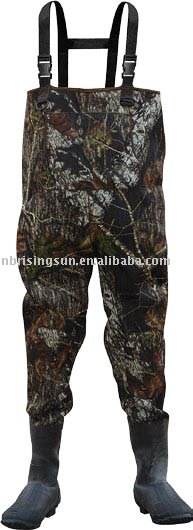 Neoprene warm fishing wader