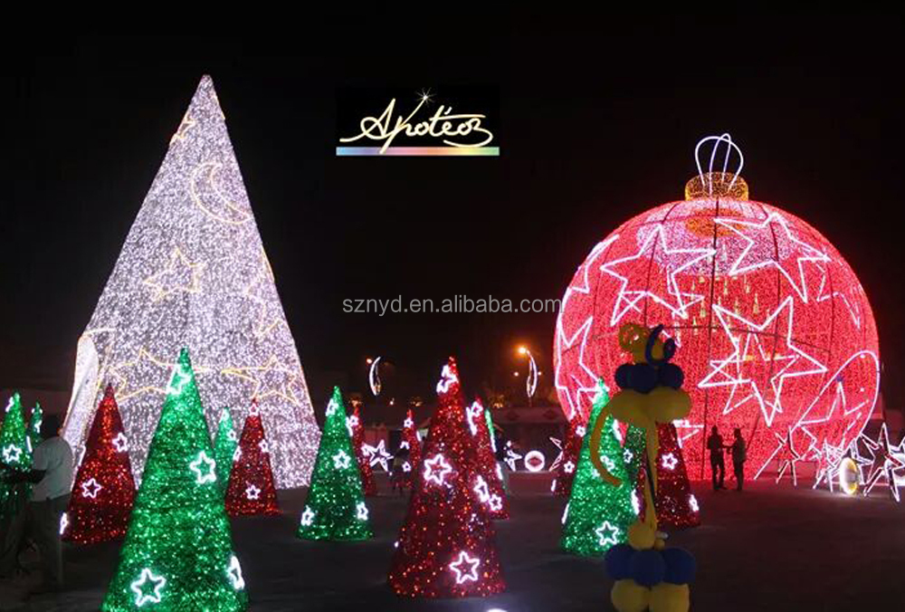 led christmas ball decoration outdoor new outdoor