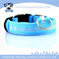 Hot Selling Designer pet dog collars LED Flashing Dog Collar