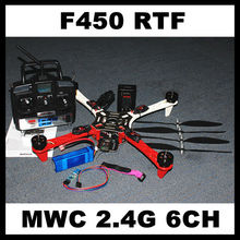 F450 FlameWheel W/ MMC10 Auto Balance Controller Radio/Battery Quad-Multi copter RTF Assambled Assambled Super strong Smooth
