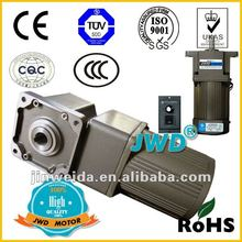 90w AC right angle reduction gear motor 200W 220V JWD motor