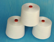 100% spun polyester yarn manufacturer in china
