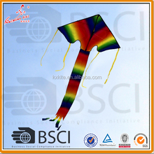 Single Line delta rainbow kite for kids