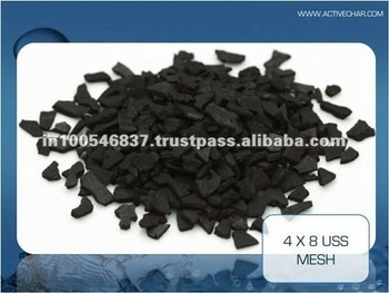 Waste water treatment activated carbon