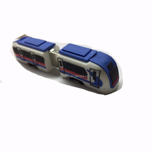 Promotional customize shape 8G pvc train shape usb flash drive 2.0 usb flash memory stick drive advertising USB flash drive