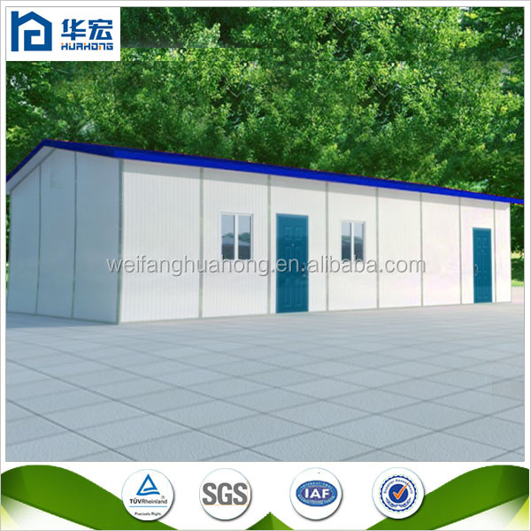 low cost small sandwich panel prefab poultry house