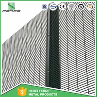 boundary wall anti climb weld mesh 358 high security fence