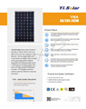 265W Solar Panel Mono crystalline IEC CEC TUV good price