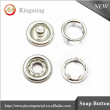 Four Parts Press Stud Prong Snap Button For Garment