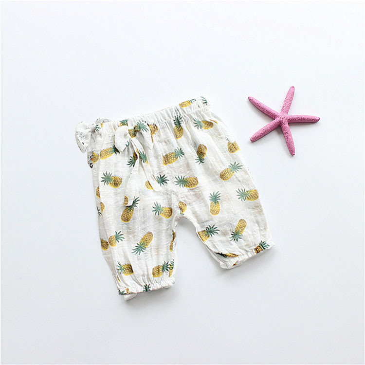2019 new design girl clothing pants children with lovely style casual comfortable pants