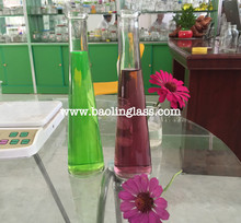 Soda Carbonated Beverage Clear Glass Bottle Wholesale