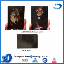 2015 promotion custom tourist souvenir decoration 3d wholesale PET lenticular fridge magnet