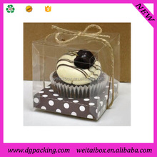 Clear plastic cake box packaging&square clear birthday cake packaging