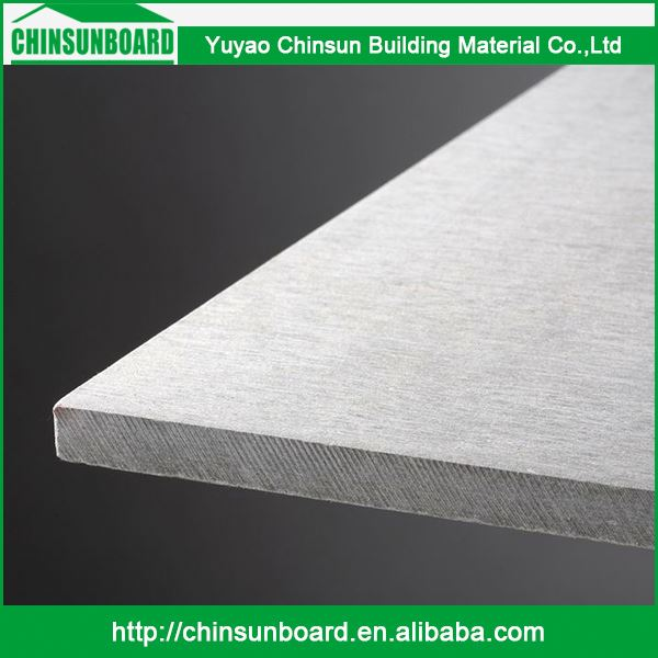 Eco-Friendly Wholesale High Strength Fireproof Supplier Quartz Paint Free Fiber Cement Board For Hotel Building