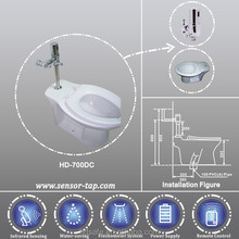 2017 Modern Hotel Automatic Toilet Flushing System Water Saving Toilet