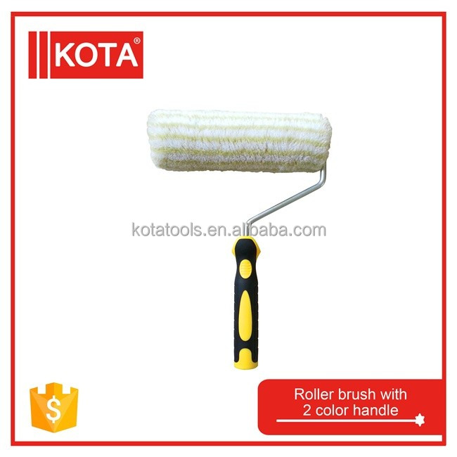 18mm 2 color hanle paint roller brush
