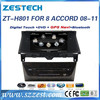 ZESTECH radio dvd car navigation system for Honda accord 2008 2009 2010 2011