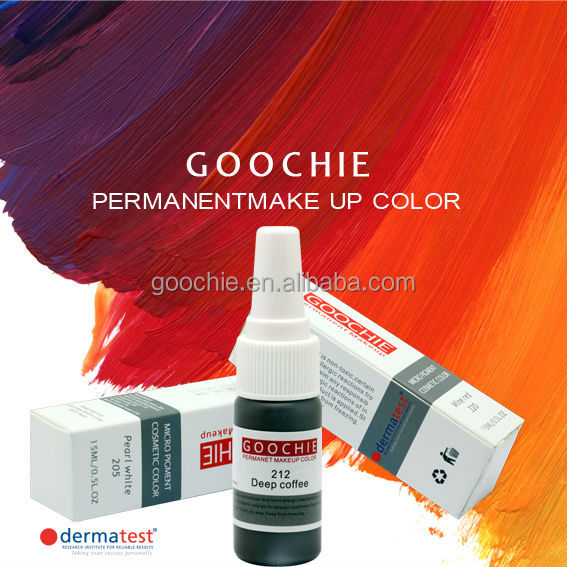Goochie Medical Grade Micro Pigments 2014 New Color Revolution