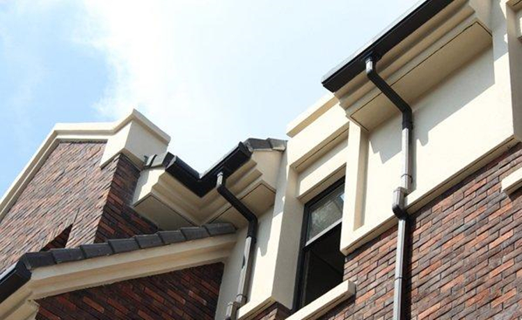 Elbow Aluminum gutter system For Roof Drainage